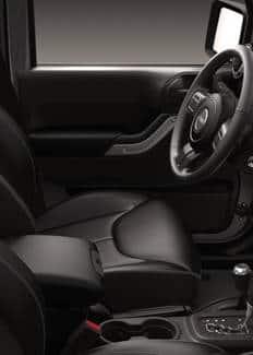Jeep Wrangler 2016: vista del asiento del conductor