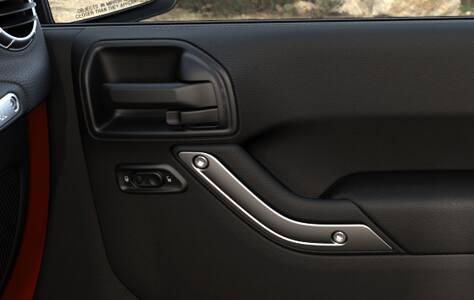 Jeep Wrangler 2016: ventanas y seguros de puertas eléctricos