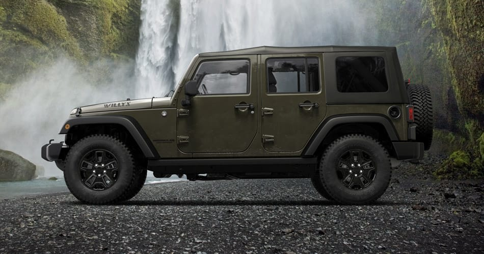 2015 Jeep Willys Wheeler Side View