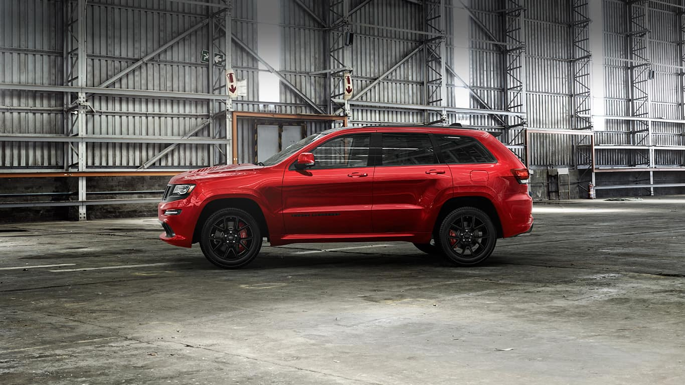 2016 jeep grand cherokee srt night limited edition suv. Black Bedroom Furniture Sets. Home Design Ideas