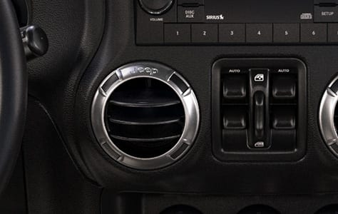 2016 Jeep Wrangler Unlimited Freedom Power Window Controls