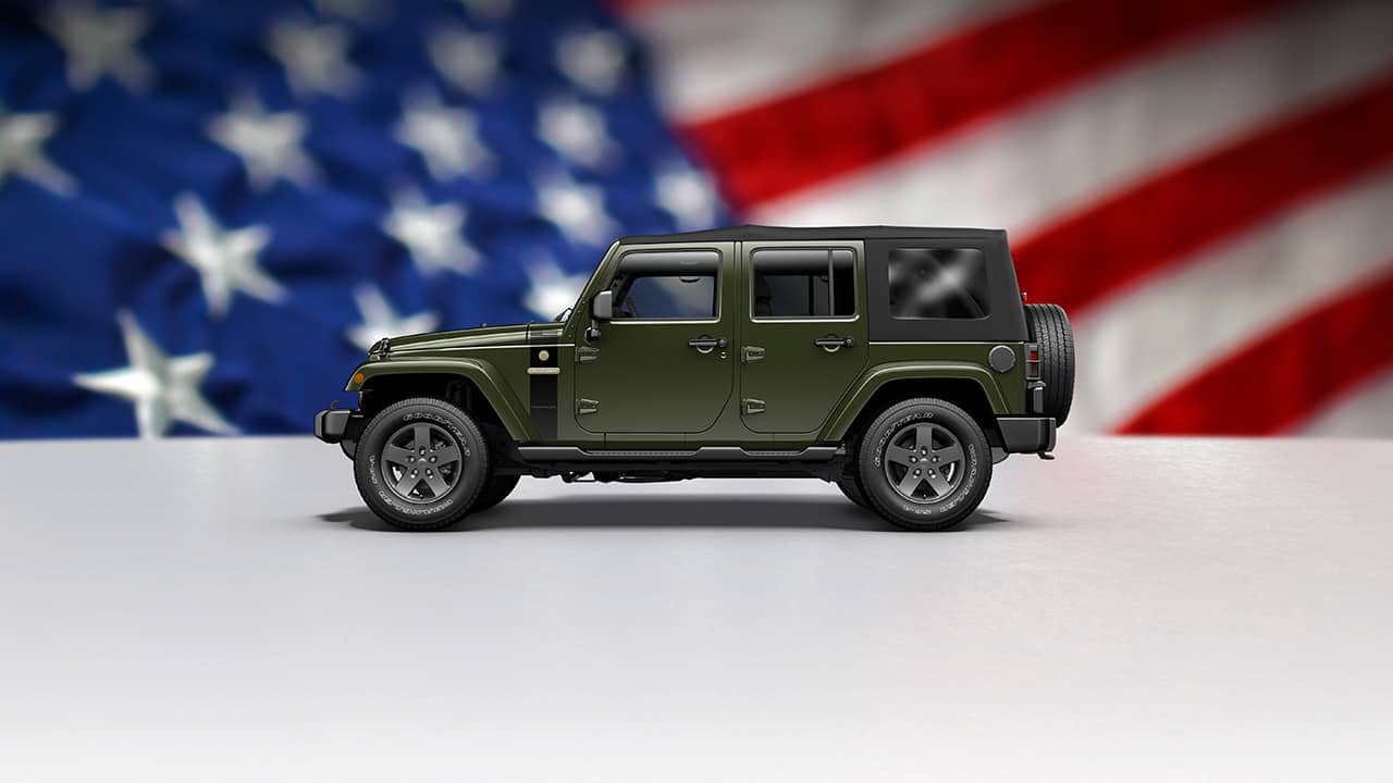 Jeep Wrangler Unlimited Freedom 2016