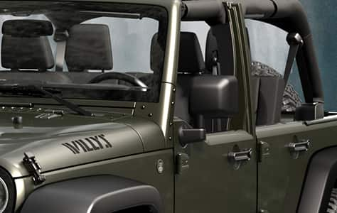 2016 Jeep Wrangler Unlimited Willy Wheeler Half Doors