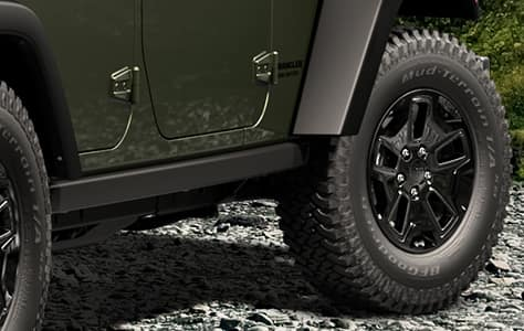 2016 Jeep Wrangler Unlimited Willy Wheeler Trac-Lok