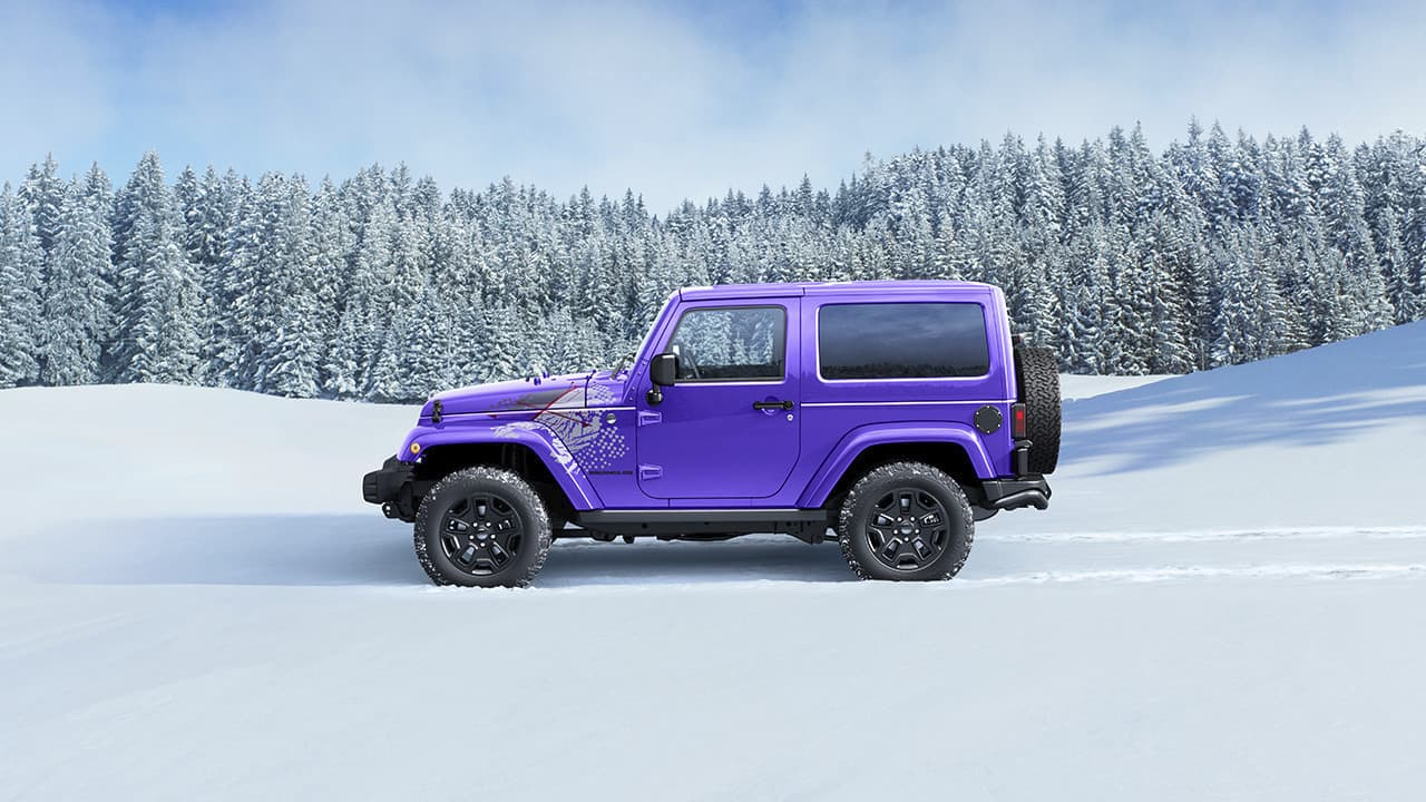 2016 Jeep Wrangler Backcountry - Limited Edition SUV