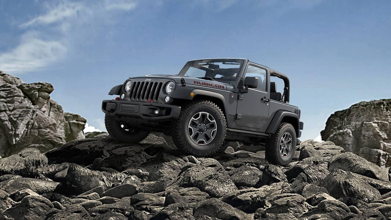 2016 Jeep Wrangler Rubicon Hard Rock Limited Edition
