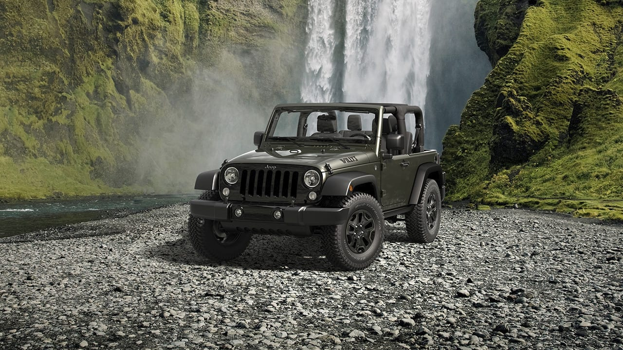 2016 Jeep Wrangler Willy Wheeler Edition