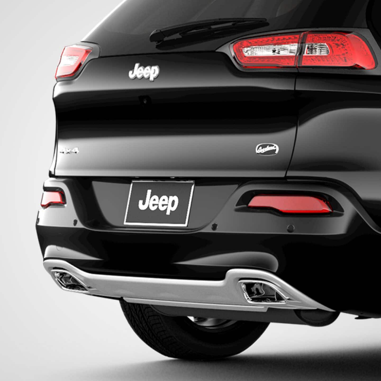 2018 jeep accessories. fine jeep 2018 jeep cherokee dual exhaust tips on jeep accessories