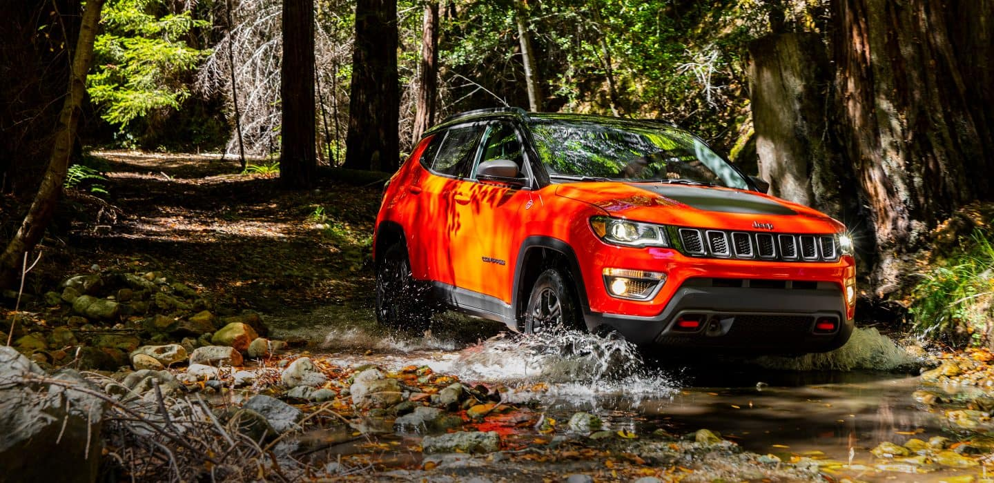 2018 Jeep Comp Water Fording