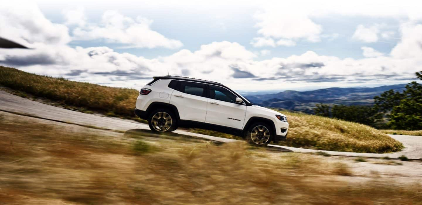 2018 Jeep Compass Aerodynamic Exterior Features