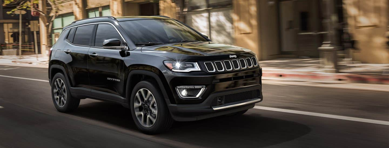 2018 Jeep Compass - Aerodynamic Exterior Features