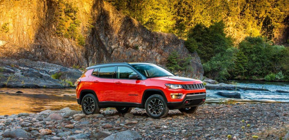 2018 Jeep Compass vs 2018 Subaru Crosstrek comparative review Auburn ME
