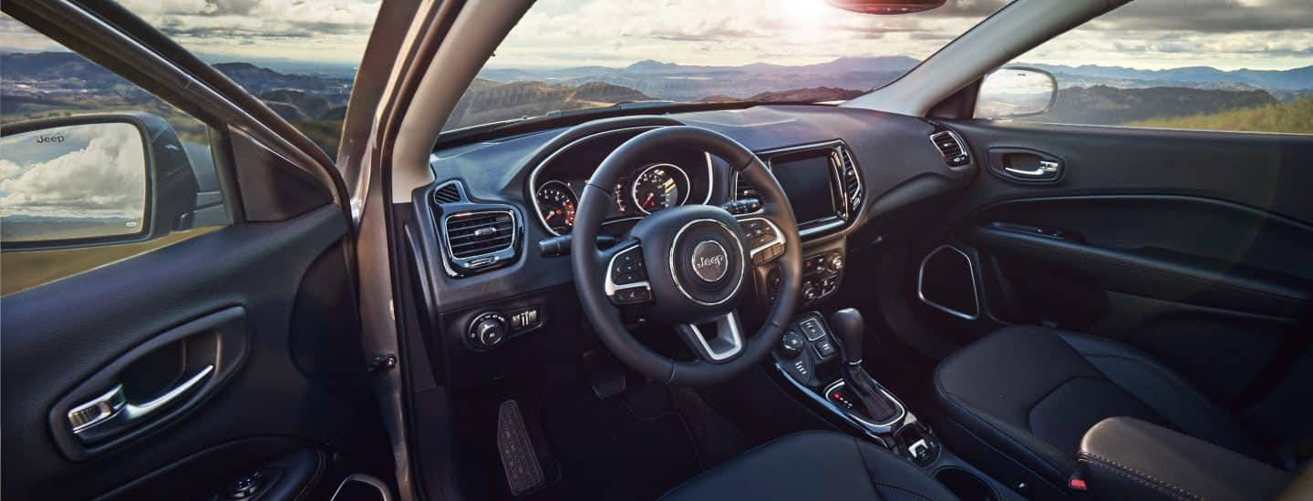 2018 Jeep Compass Interior Design