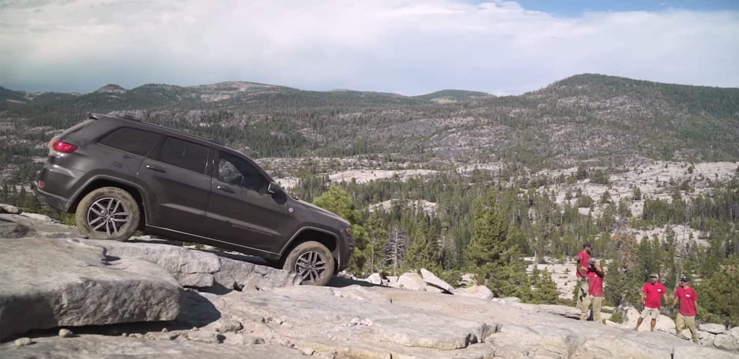 2018 Jeep Grand Cherokee Capability Trail Rated Traction