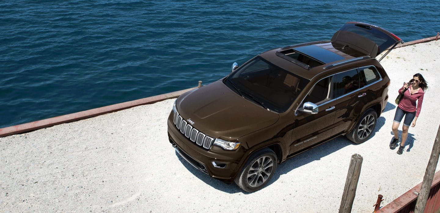 2018 jeep grand cherokee - rugged exterior features