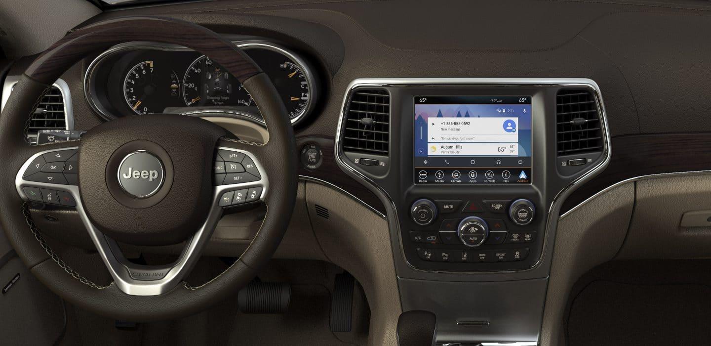 2018 Jeep Grand Cherokee  Premium Interior Features