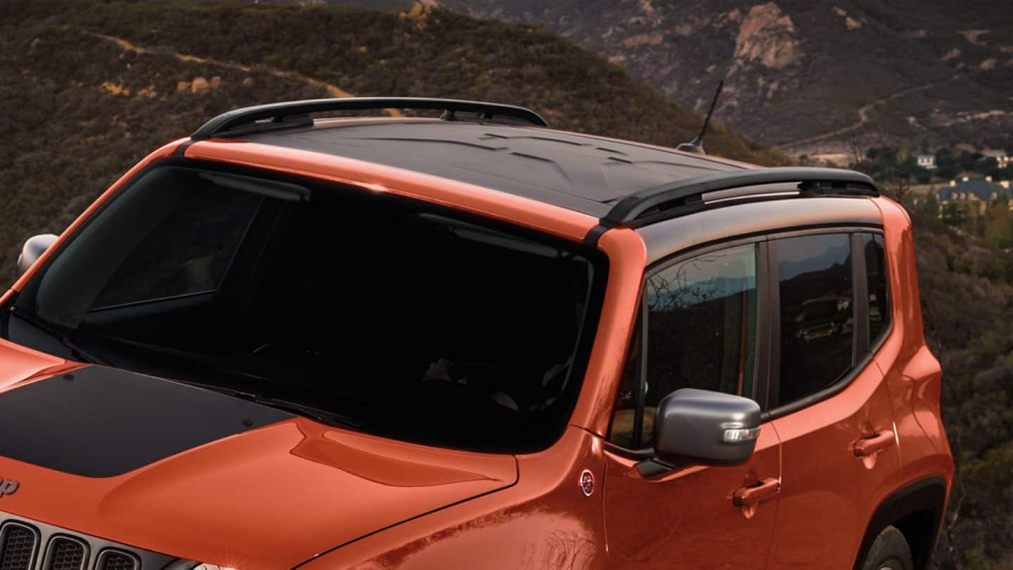 2018 Jeep Renegade Exterior Features For Urban Adventures