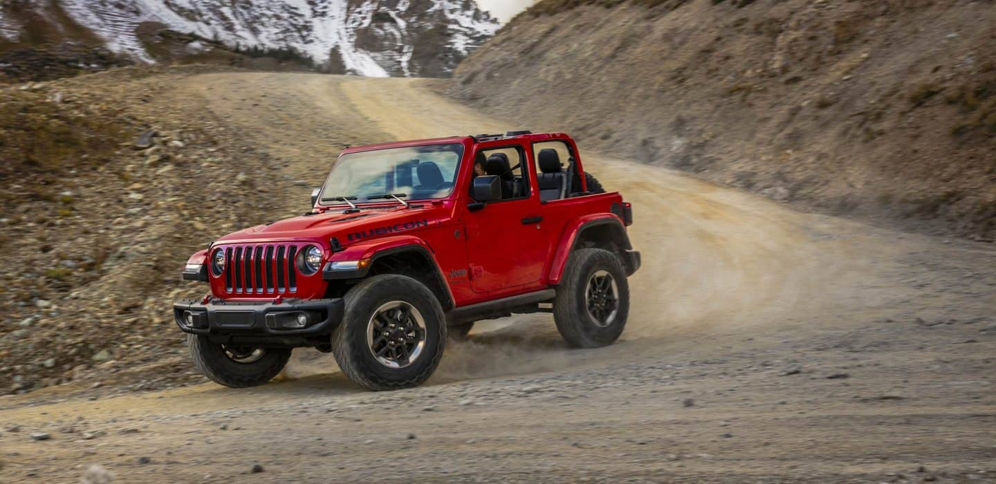 all-new 2018 jeep wrangler - off-road capability features