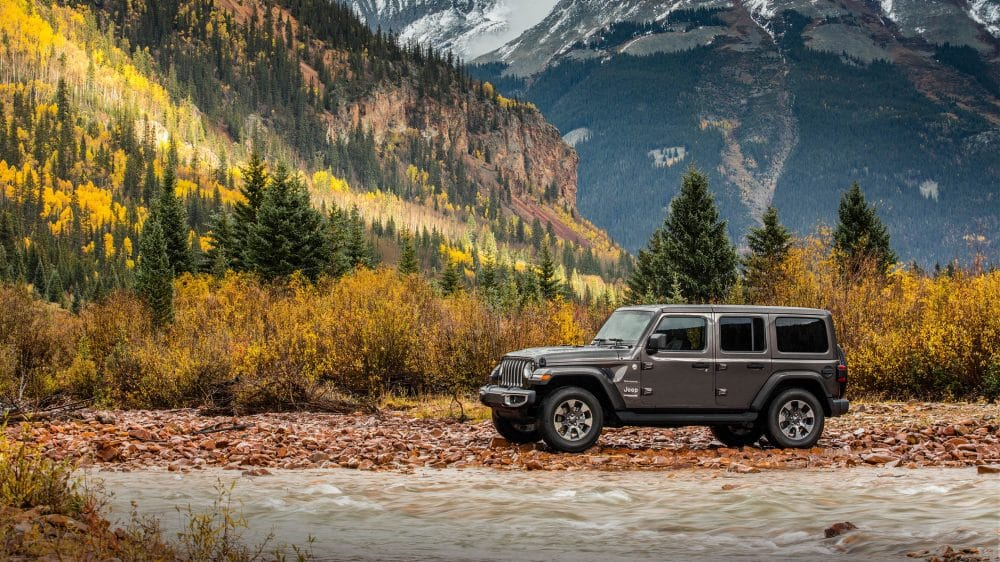 2018 Jeep All-New Wrangler JL