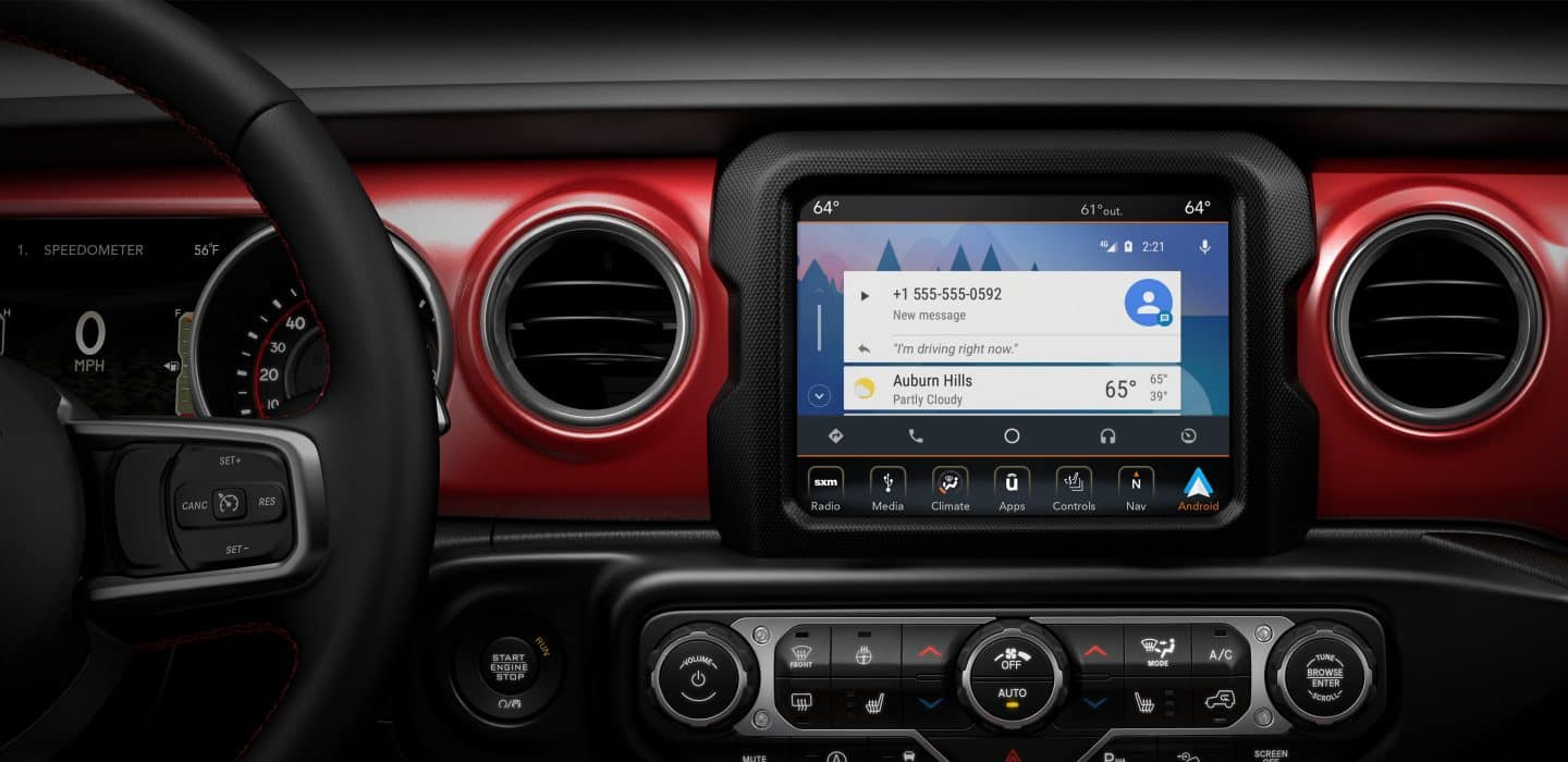 All-New Jeep Wrangler Cutting-Edge Technology | All-New 2018 Jeep