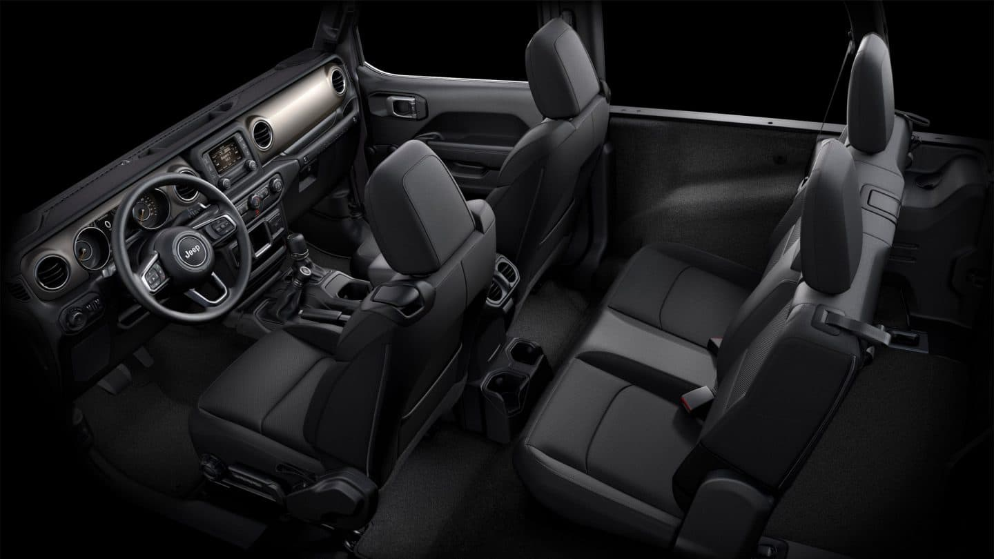 2018 Jeep Wrangler BLACK CLOTH Images
