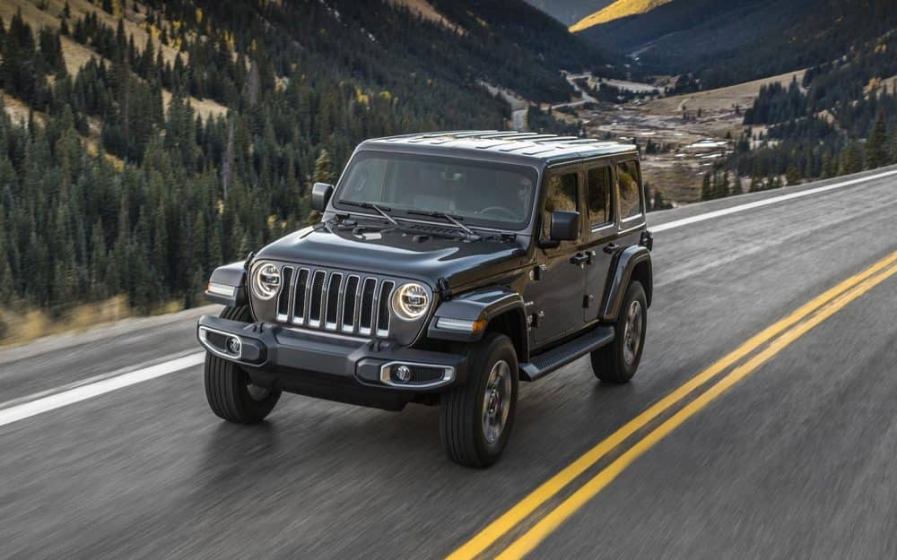 Trim Levels of the 2018 Jeep Wrangler JL