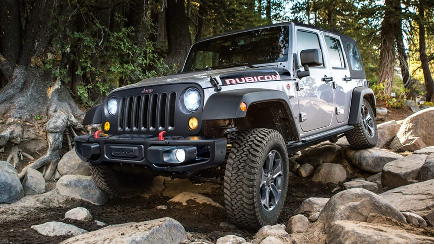 High Quality 2018 Jeep Wrangler Unlimited JK With Electronic Stability Control
