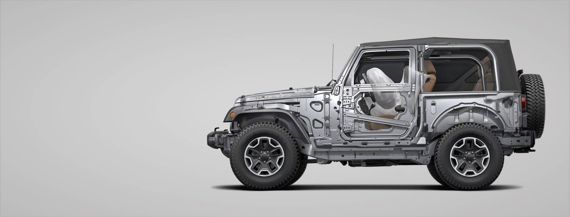 2018 Jeep Wrangler JK Safety Features