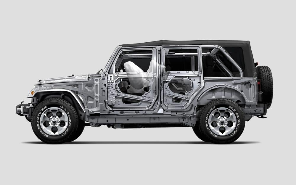 2018 Jeep Wrangler JK Airbags
