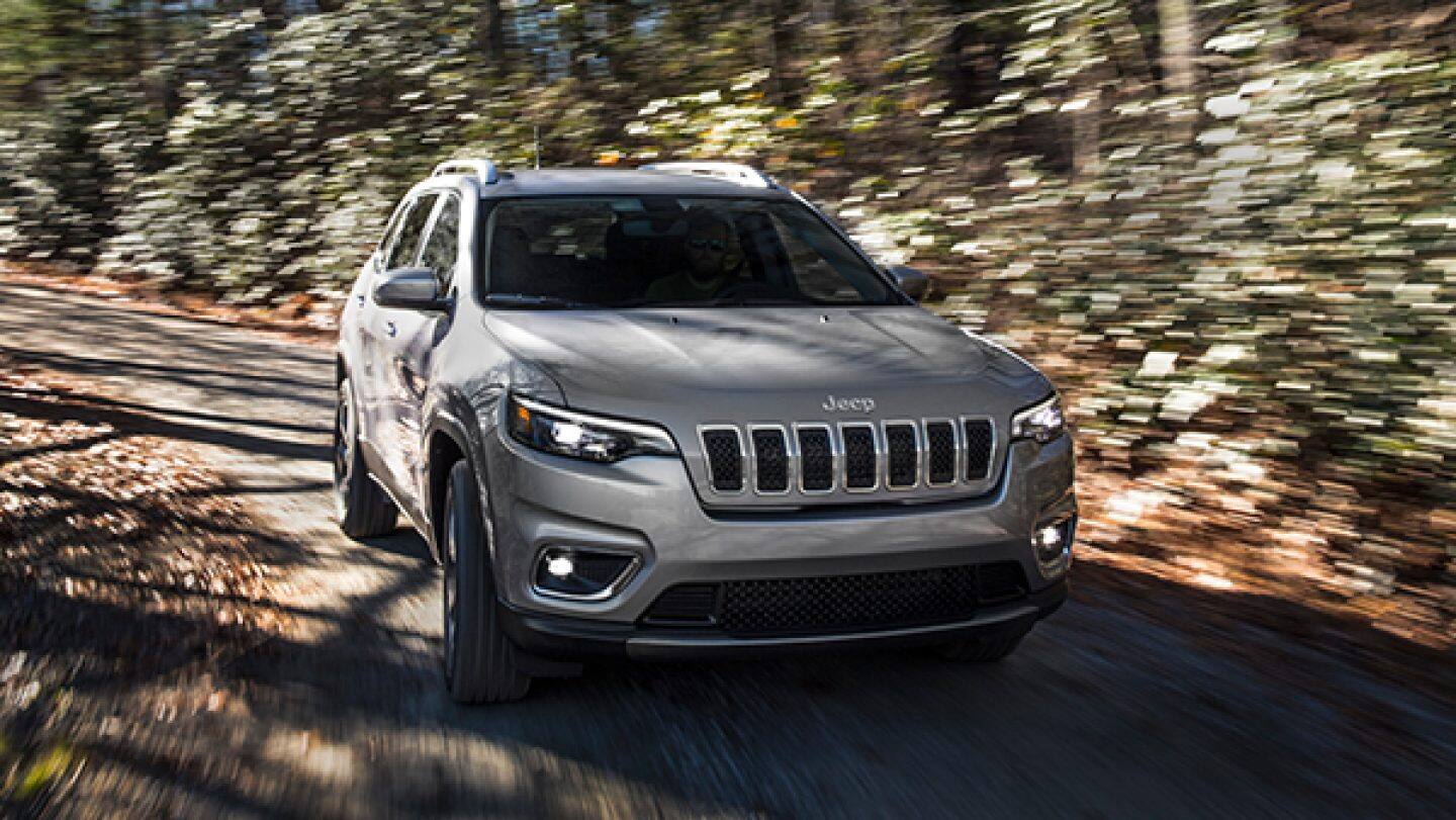 2019 Jeep® Cherokee - Trail Rated Capability