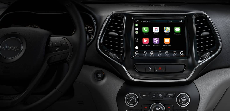 2019 Jeep® Cherokee Interior, Seating, & Comfort