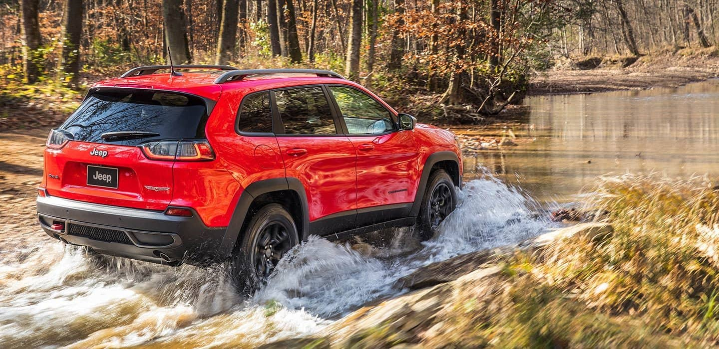 2019 Jeep Cherokee Trail Rated Capability Electric Locker Differential Wiring Diagram Water Fording