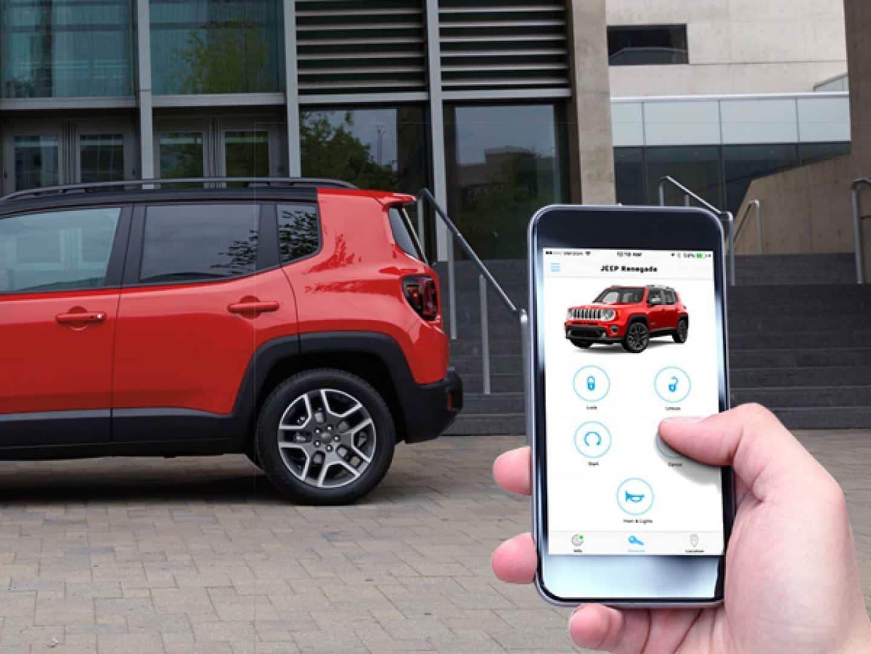 Jeep Renegade Interior >> 2019 Jeep Renegade Versatile Interior Features