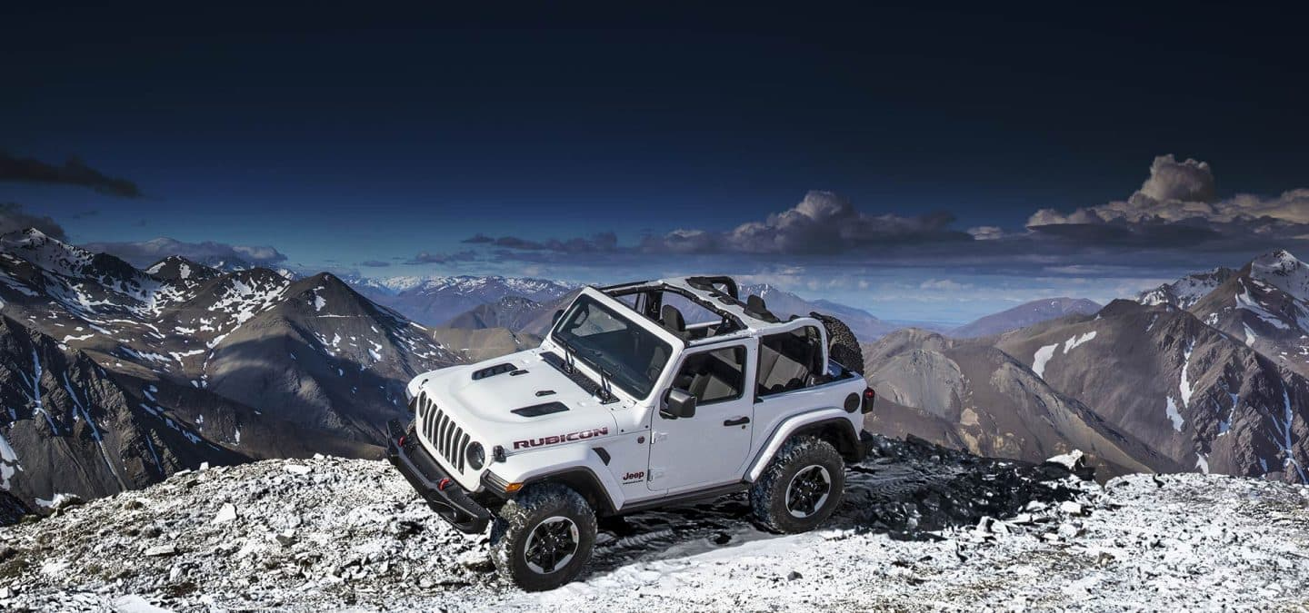 2019 Jeep® Wrangler - Trail Rated Capability