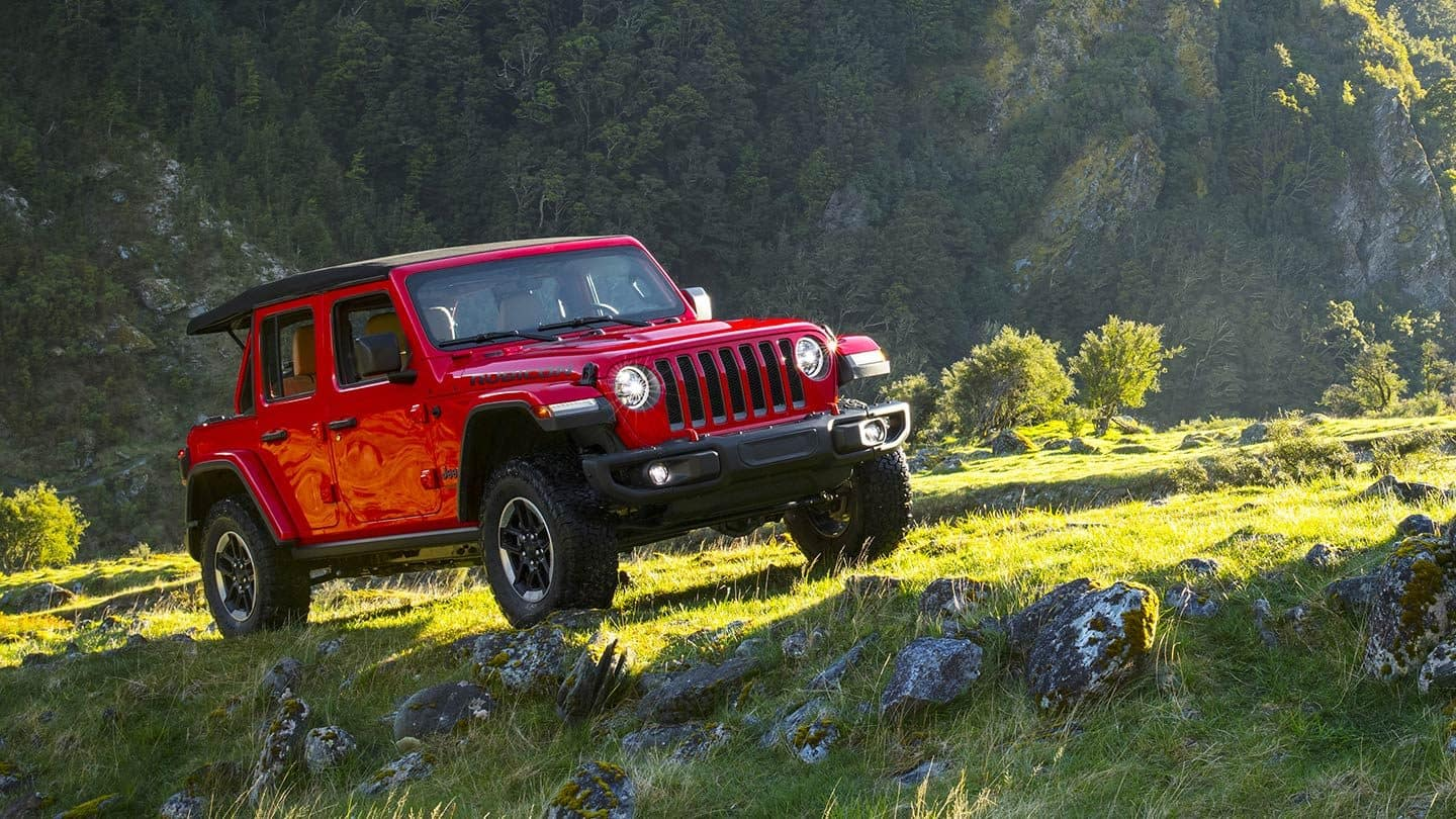 2019 Jeep Wrangler Gallery Exterior Rubicon Red Front