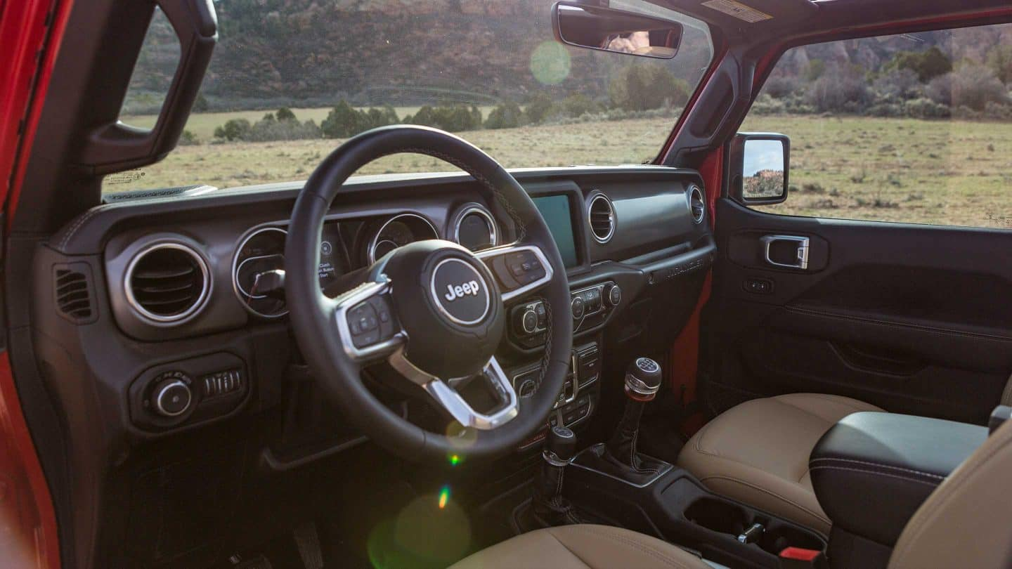 2019 Jeep Wrangler Gallery Interior Rubion Dashboard