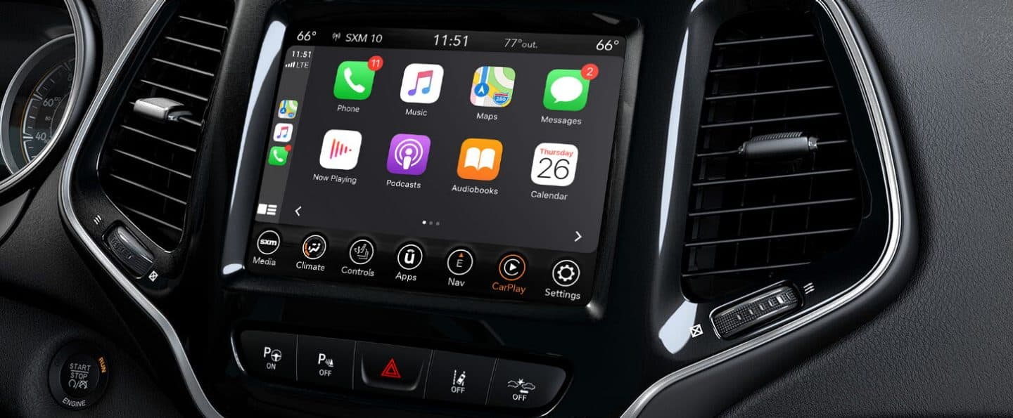 Uconnect Access App >> 2020 Jeep Cherokee Technology Features