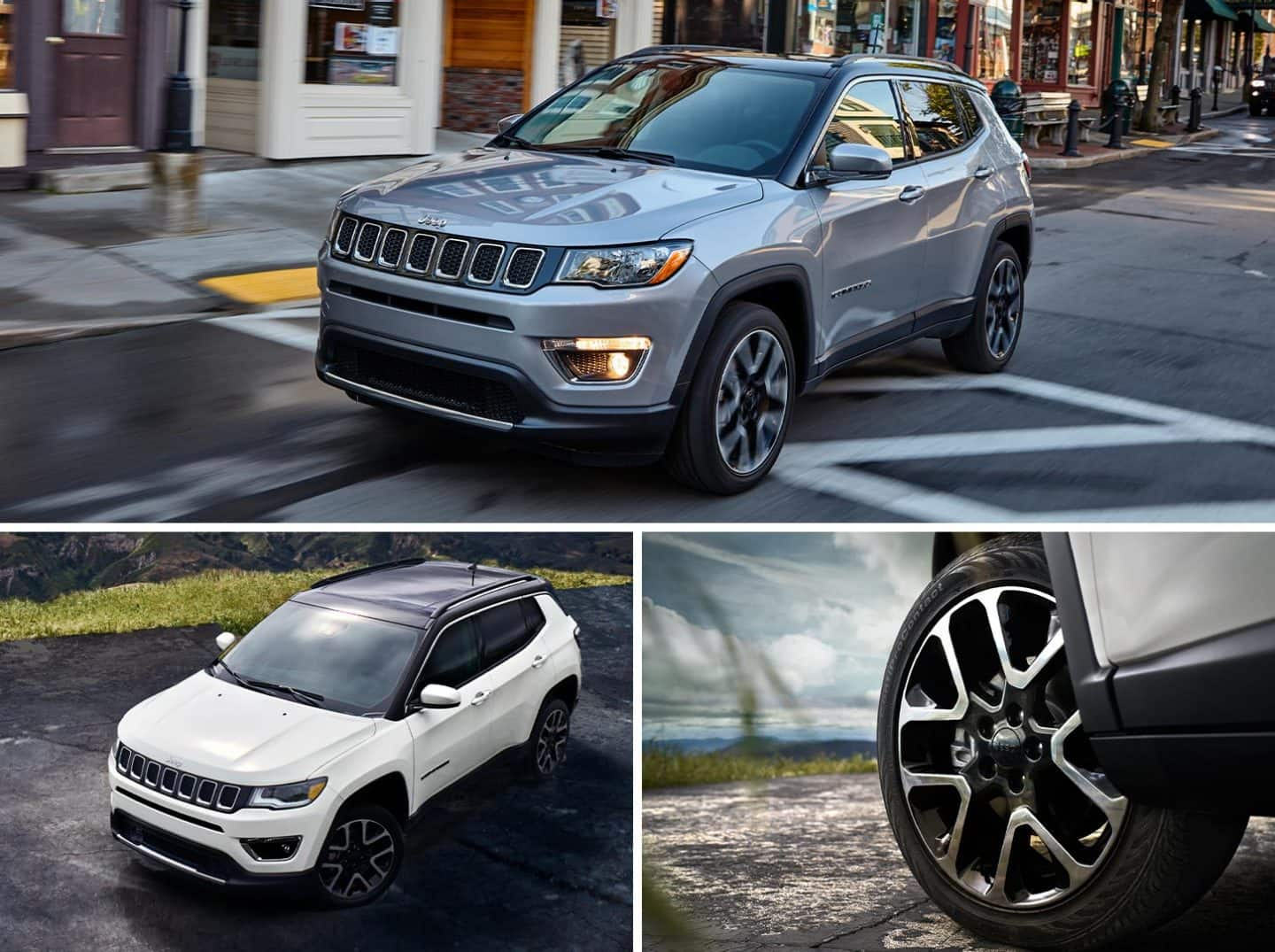 2020 Jeep Compass Exterior Impressive Features View Color Options