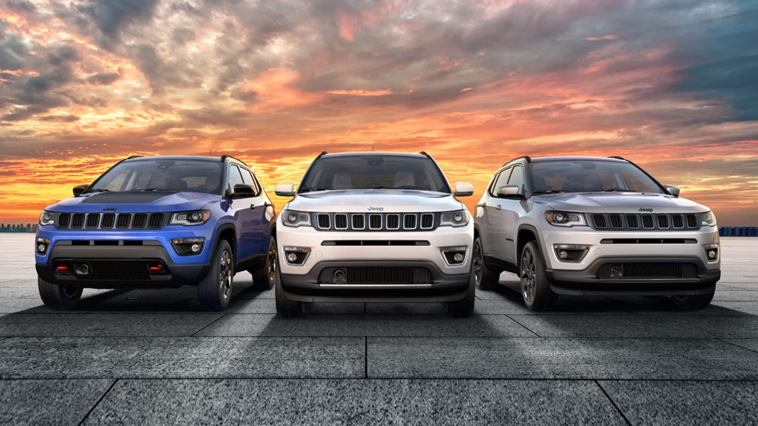 Trim Levels of the 2020 Jeep Compass