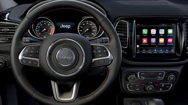 2020 Jeep Compass Latitude 4×4 Interior