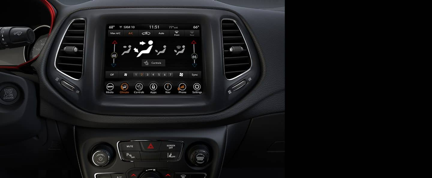 2020 Jeep Compass Interior Stylish Features Seating And Comfort
