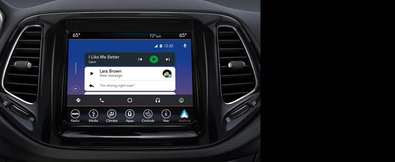 2020 Jeep Compass Technology Features Entertainment Connectivity