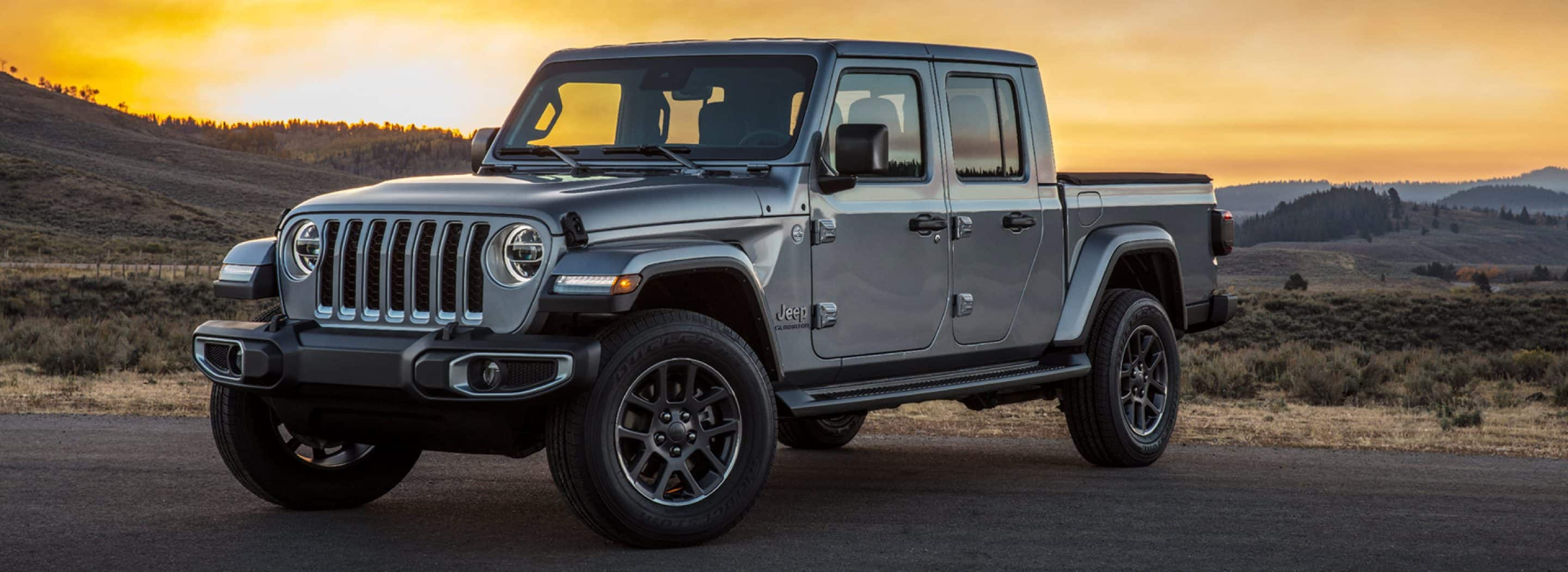 The all-New 2020 Jeep Gladiator announced and revealed