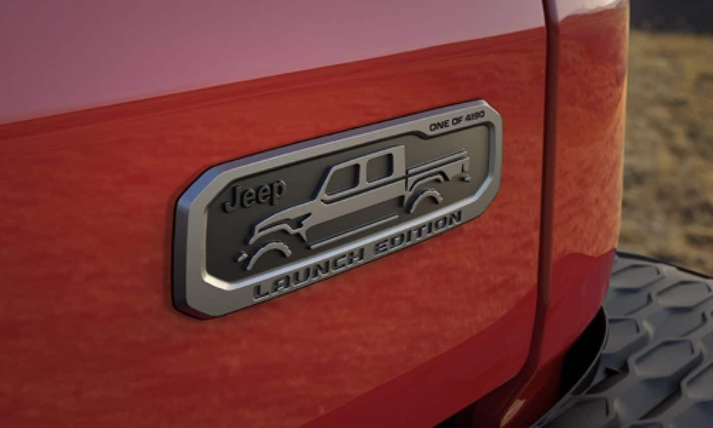 All New 2020 Jeep Gladiator Launch Edition