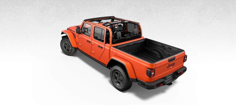 2020 Jeep Gladiator Exterior Features