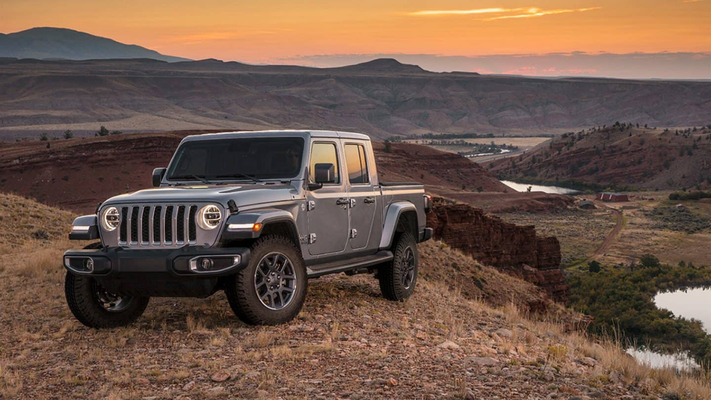 2020 Jeep Gladiator Official Gallery
