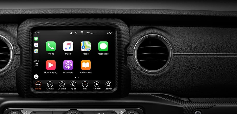2020 Jeep Gladiator Interior Features