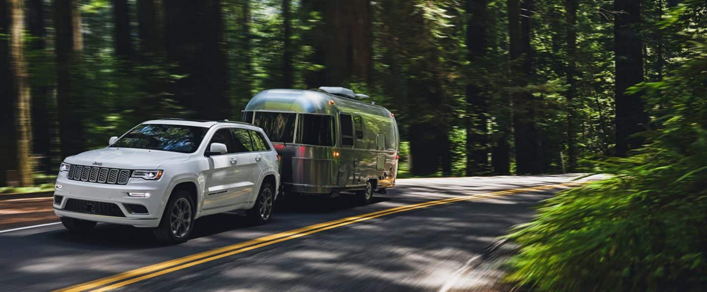 ALL SEASONS AND ALL ROADS Best-In-Class towing capability ( Disclosure6) . All-weather capability. All-season reliability. The 2020 Jeep® Grand Cherokee is a sophisticated SUV with the grit to get up and go.