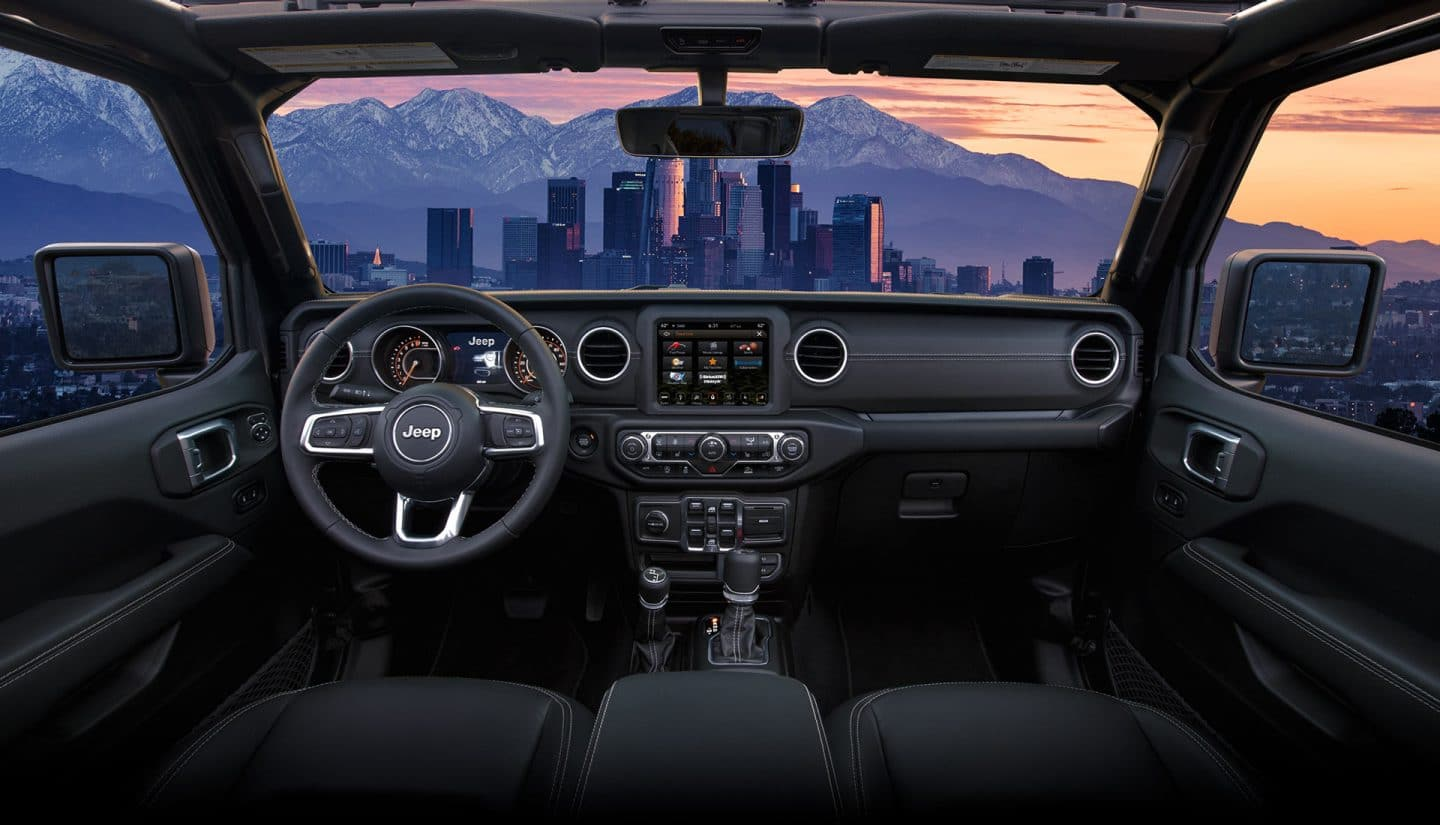 all new 2020 jeep gladiator midsize pickup truck