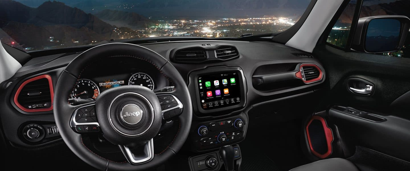 2020 Jeep® Renegade - Interior Seating and Comfort
